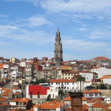 Picture of Porto with Clerigo's tower